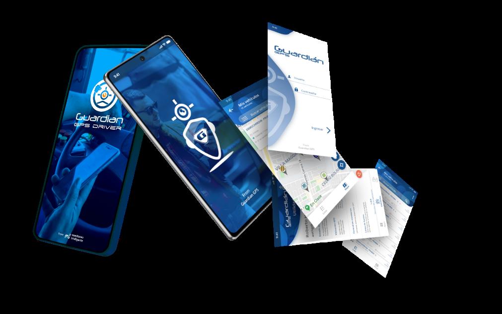 aplicaciones moviles de guardian gps y telemetria industrial de monitoreo inteligente